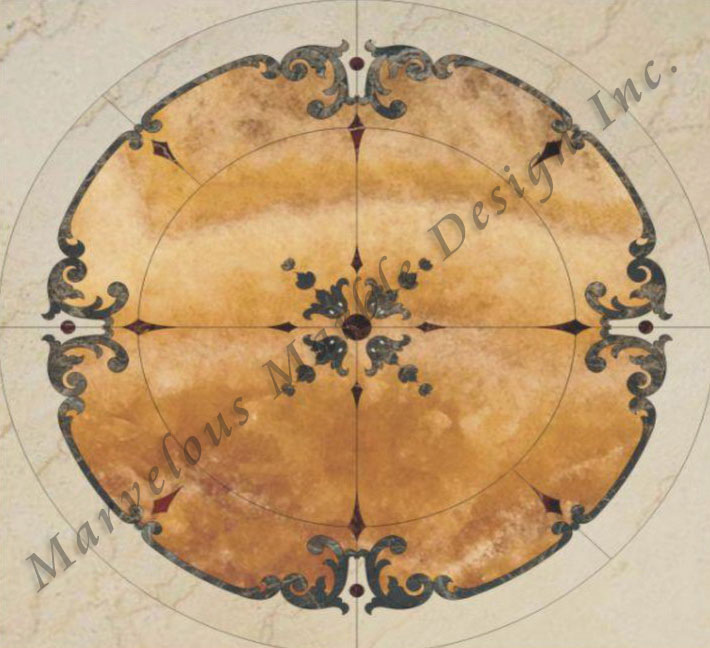 Marble Floor Patterns Design Borders And Medallions